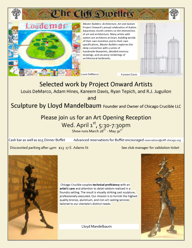 CD flyer April May 2015 art display